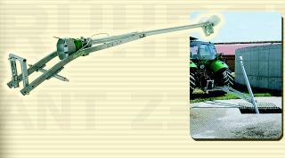 Traktorové míchadlo kejdy Z4 pro zemní jímky